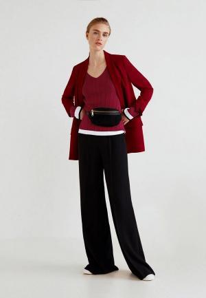 Пуловер Mango - JOKERIN. Цвет: красный