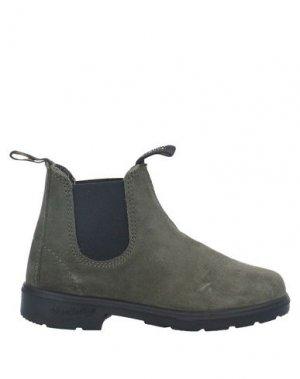 Полусапоги и высокие ботинки BLUNDSTONE. Цвет: зеленый-милитари