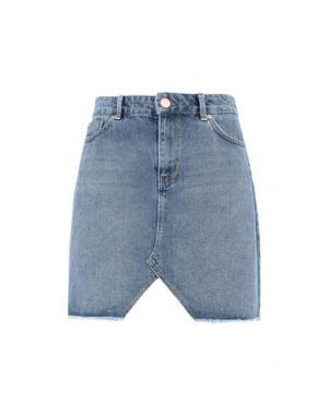 Джинсовая юбка 2ND DAY. Цвет: синий