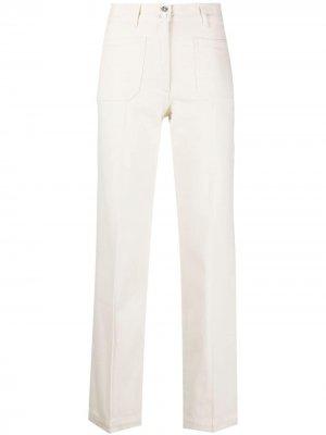 Patch-pocket straight trousers A.P.C.. Цвет: нейтральные цвета