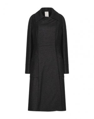 Пальто MANUELA CONTI. Цвет: темно-синий