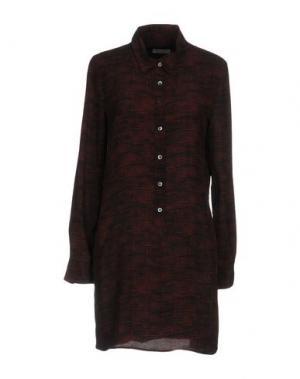 Блузка EQUIPMENT. Цвет: красно-коричневый