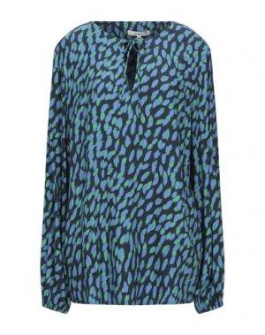 Блузка GARCIA. Цвет: лазурный