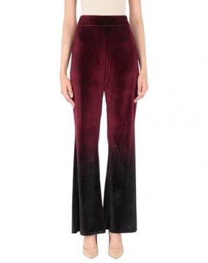Повседневные брюки ALLURE. Цвет: красно-коричневый