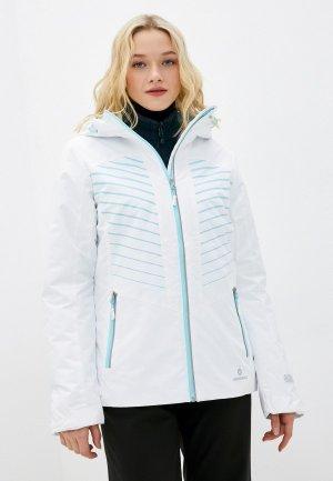 Куртка утепленная Nordway. Цвет: белый