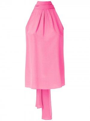 Блузка без рукавов Eva. Цвет: розовый