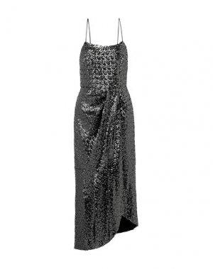 Платье длиной 3/4 DEREK LAM 10 CROSBY. Цвет: стальной серый