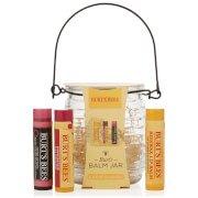 Подарочный набор бальзамов для губ Burts Balm Jar Gift Set Bees