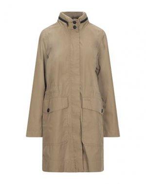 Легкое пальто ELVINE. Цвет: песочный