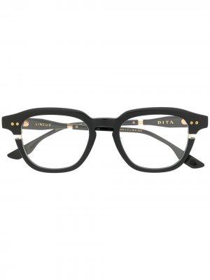 Солнцезащитные очки Lineus Dita Eyewear. Цвет: черный
