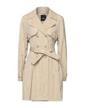 Легкое пальто ADHOC. Цвет: песочный