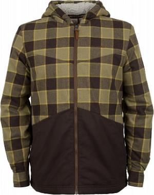 Рубашка с длинным рукавом мужская , размер 46 Merrell. Цвет: коричневый