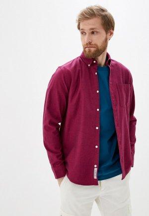 Рубашка Carhartt. Цвет: бордовый