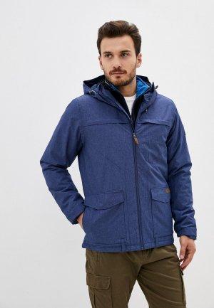 Куртка утепленная Alpine Crown. Цвет: синий