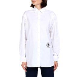 Рубашка WW0WW25624 белый TOMMY HILFIGER