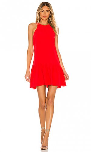 Мини платье ezra Amanda Uprichard. Цвет: красный