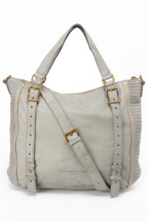 Шоппер LIEBESKIND BAGS&BELTS. Цвет: серый