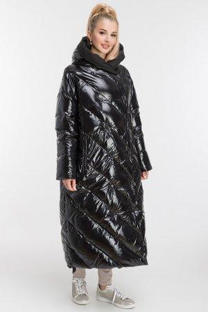 Двусторонний модный итальянский пуховик AFG. Цвет: черный