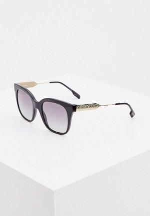 Очки солнцезащитные Burberry BE4328 300111. Цвет: черный
