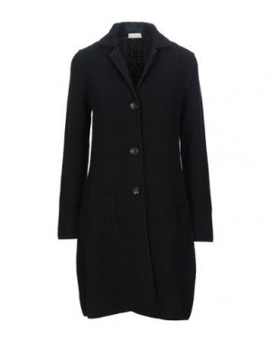 Пальто CRUCIANI. Цвет: черный
