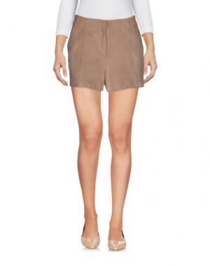 Повседневные шорты ATOS LOMBARDINI. Цвет: светло-коричневый