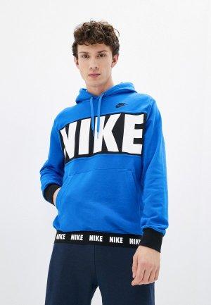 Худи Nike M NSW SPE+ FT PO HOODIE HBR. Цвет: синий