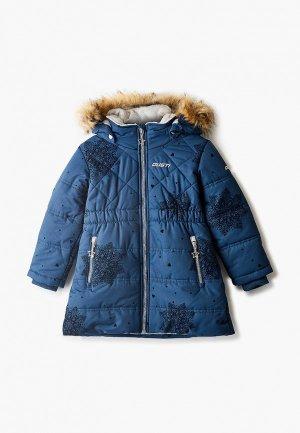 Куртка утепленная Gusti. Цвет: синий