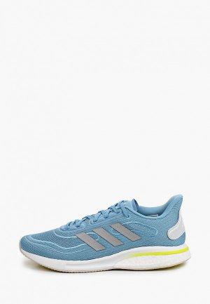 Кроссовки adidas SUPERNOVA W. Цвет: голубой