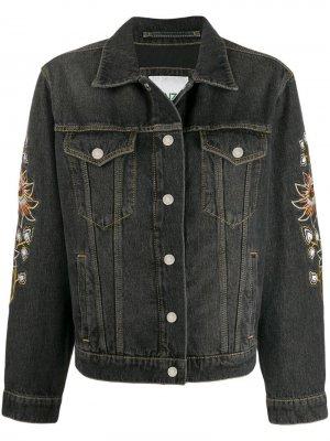 Джинсовая куртка Kenzo. Цвет: черный