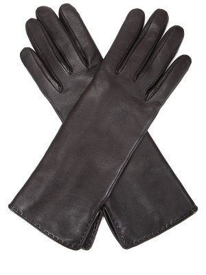 Перчатки кожаные удлинённые LORO PIANA