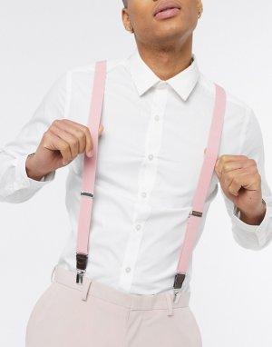 Подтяжки -Розовый цвет Ben Sherman