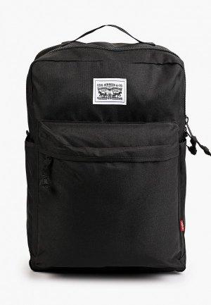 Рюкзак Levis® Levi's®. Цвет: черный