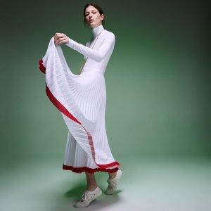 Юбка Fashion Show Lacoste. Цвет: белый