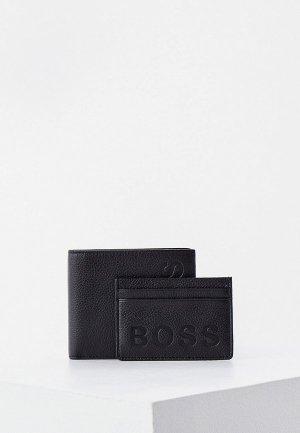 Кошелек и кредитница Boss GBBM_8cc S card bold. Цвет: черный