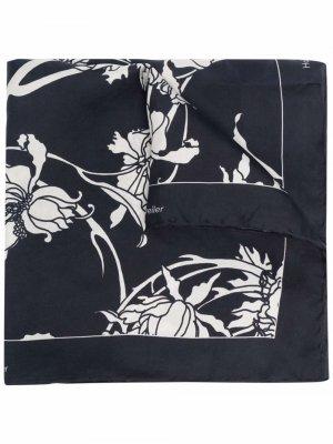 Платок с цветочным принтом Holzweiler. Цвет: черный