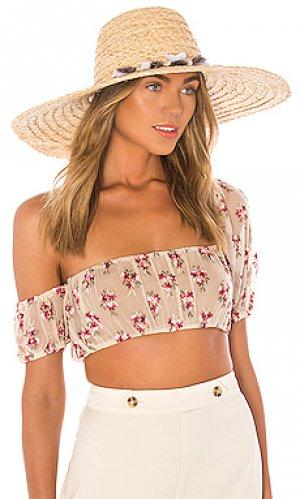 Шляпа talisa ale by alessandra. Цвет: цвет загара