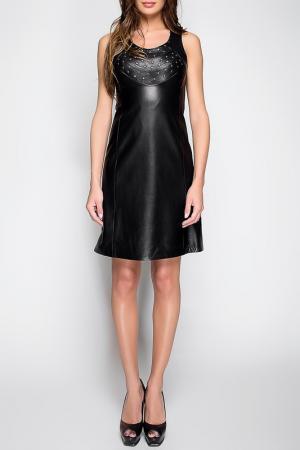 Платье John & Yoko. Цвет: черный
