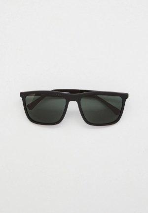 Очки солнцезащитные Emporio Armani EA4150 506371. Цвет: черный