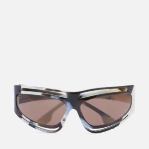 Солнцезащитные очки Eliot Burberry. Цвет: коричневый