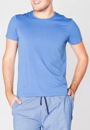 Футболка Cacharel. Цвет: голубой
