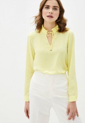 Блуза Perspective. Цвет: желтый