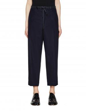 Темно-синие брюки со стрелками Jil Sander