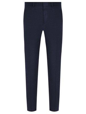 Классические брюки из шерсти HUGO