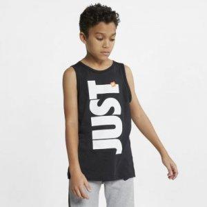 Майка для мальчиков школьного возраста Sportswear Just Do It Nike