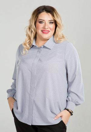 Рубашка Luxury Plus. Цвет: серый