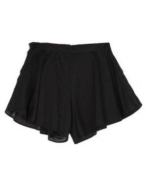 Повседневные шорты MARIUCCIA. Цвет: черный