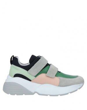 Низкие кеды и кроссовки LIVIANA CONTI. Цвет: зеленый