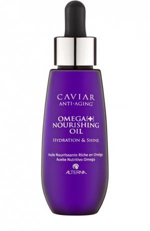 Масло для волос Интенсивное питание Омега+ Alterna. Цвет: бесцветный