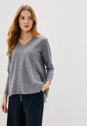 Пуловер Bluoltre. Цвет: серый