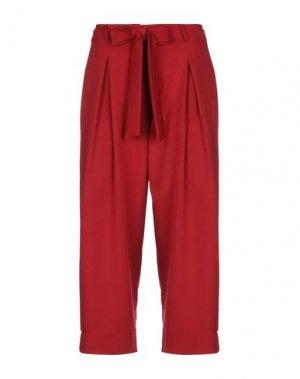Повседневные брюки H2O ITALIA. Цвет: красный